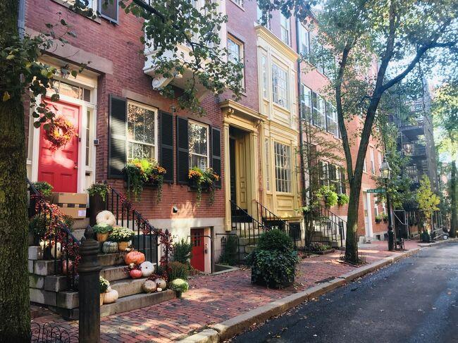 紅葉のニューイングランド11日間④秋のボストンをひたすら歩く!ハーバードからノースエンドまで