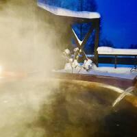 ステイ@北天の丘あばしり湖鶴雅リゾート 露天風呂付き客室 赤いサイロ