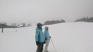 21シーズン初滑り2 たざわ湖