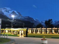 アルプス5大名峰と絶景列車の旅 23 グリンデルワルト地方のヴェンゲンへ