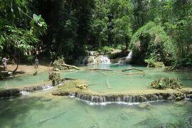 タイ・ラオス メコン川紀行 3日目 ルアンパバーン クアンシーの滝、プーシーの丘