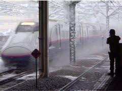 コロナ禍に対応した鉄道組合員の「分割併合」旅。へけけさまと豪雪の越後湯沢で消雪スプリンクラーを愛でる。