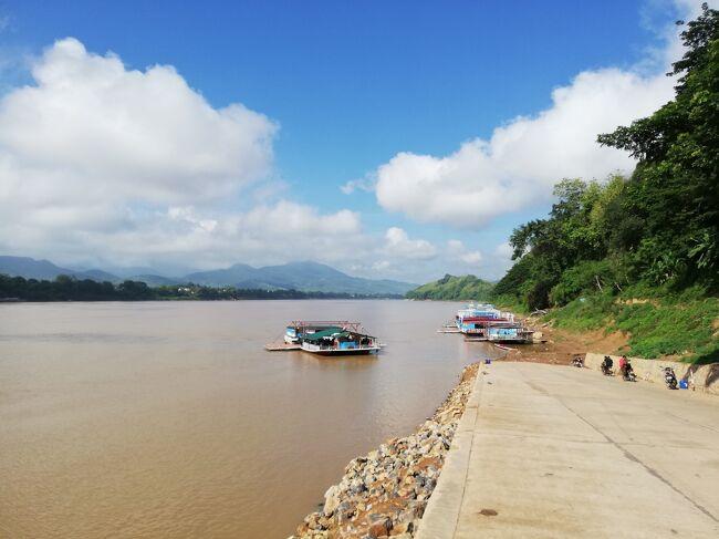 タイ・ラオス メコン川紀行 5日目 ルアンパバーンからプロペラ機でビエンチャンへ