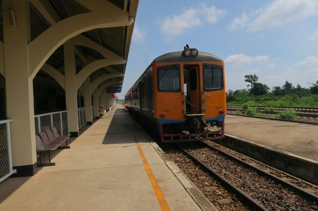 タイ・ラオス メコン川紀行 6日目 ラオス唯一の鉄道でタイへ