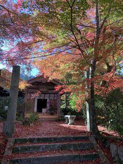 湖国の紅葉を巡る旅4 湖南三山長寿寺と善水寺