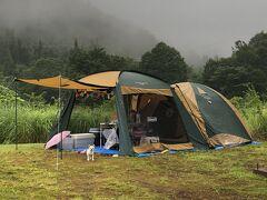 無印良品津南キャンプ場で2泊3日のキャンプ 前半