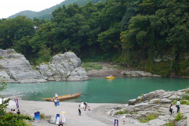 総走行距離2650km 温泉宿に泊まって地酒を楽しむ10泊旅 (11)長瀞岩畳
