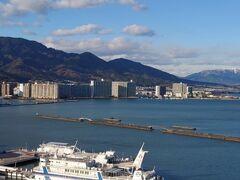 琵琶湖を望む絶景