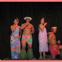 ハワイ満喫2013(4)ワイキキのお散歩とポリネシアンディナーショー@シェラトンプリンセスカイウラニ