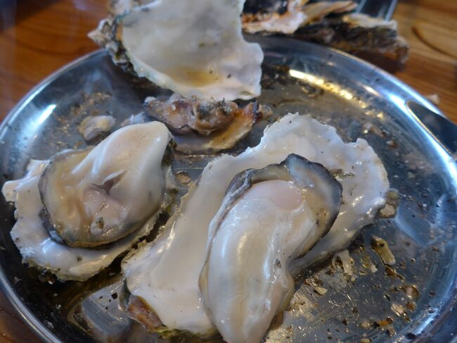 城下町杵築の新名所「カキ街道」で冬の味覚「牡蠣」を食べてきました!(^0^)!