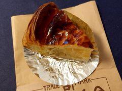 デザートを買いに 老舗の「近江屋」さんのアップルパイ