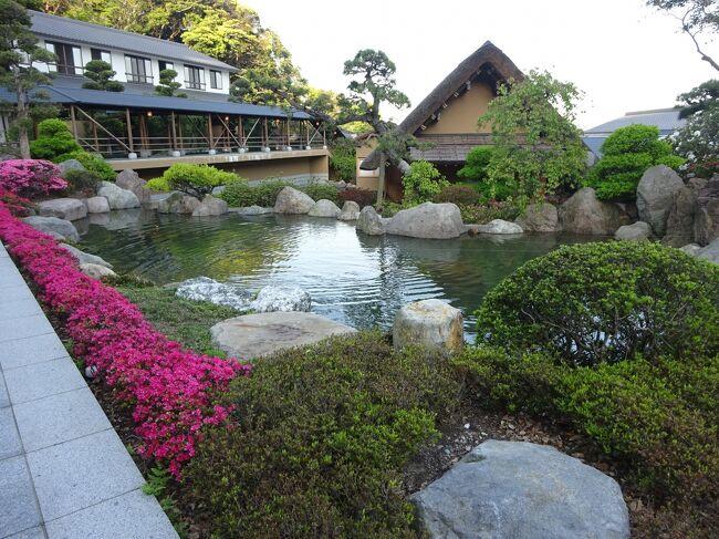 別府鉄輪温泉にある『山荘 神和苑』に行ってきました。<br />全室源泉掛け流しの温泉付きのお宿です。