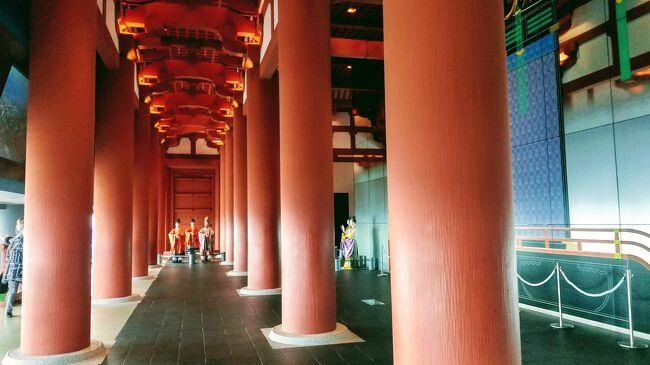 京都や奈良に都があった事は誰しもが知っていても、大阪に都が置かれた事は意外と知られていないのでは・・・<br /><br />ヤマトを追っての二回目は「難波宮跡」。そして難波宮・大極殿の再現や歴史を紹介している「大阪歴史博物館」と紅葉が始まったばかりの「大阪城」も訪ねる。<br />宿泊先は前回宿泊した淀屋橋エリア。この一帯はNIKKA BARなど老舗のバーや、証券会社が営んでいて店内にチャートモニターなどがある未来型バーや肴が美味い居酒屋などがポツリポツリとある。<br /><br />夕食がてら本町にある、お気軽天ぷら処「天神」に行き(写真撮り忘れたのでURLで) https://tenjin.patria-d.co.jp/ 帰りは御堂筋を歩き淀屋橋まで戻る。御堂筋はどこまで続くかと思われるイルミネーションにコロナ禍においても大阪のエネルギーを感じた。