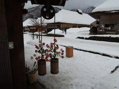 雪景色の会津若松と大内宿