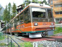 17.スイス鉄道の旅10日目:標高差1485Mゴルナーグラート登山鉄道とハイキング