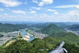 梅雨の晴れ間の長良川温泉♪ 初めての金華山!凄い!!これが、天下人がみていた景色!!!