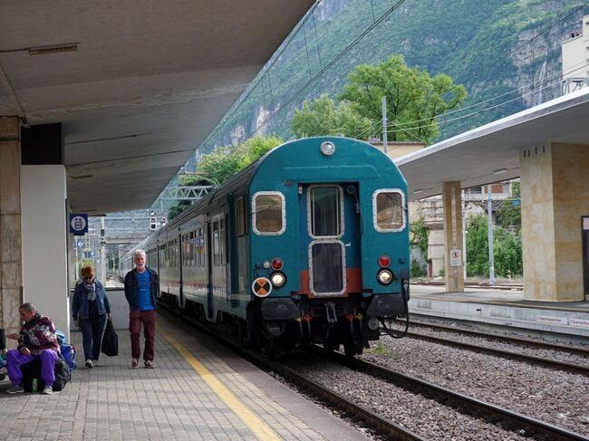 南ドイツ・北イタリア鉄道の旅(その7 ボルツァーノから快速列車でトレントで途中下車してヴェローナへ)