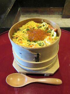 会津② 城下の「料理旅館 田事」で会津郷土料理:元祖「めっぱめし」でランチする