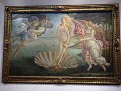 フィレンツェ(Firenze) 2日目(ウフイツィ美術館、ピッティ宮殿)
