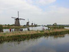 ゴールデンウィークに、オランダのチューリップと美術館巡り8日間④。キンデルダイクでサイクリング最高!2日目後半