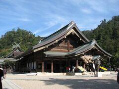 山陰山陽2007年の旅(3)・・国宝の松江城と出雲大社、足立美術館を訪ねます。