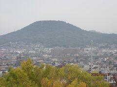 四国霊場最後の巡礼(62)丸亀城天守閣からの眺め。