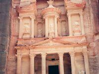 インディ・ジョーンズの舞台を訪ねてヨルダン・ペトラへ=1990年中東・中欧の旅3