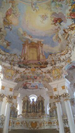 JGC修行①チェコ・ドイツ・オーストリアツアー6日目(ノイシュバンシュタイン城・ヴィース教会)