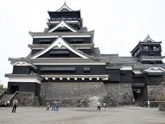 熊本城・阿蘇山