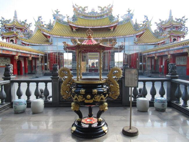 プチトリップ台湾  5千頭の龍が昇る 聖天宮 後編