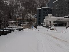 雪の登別温泉