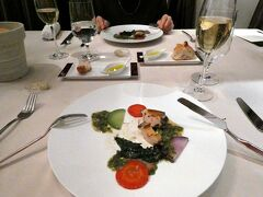 初冬のエクシブ山中湖サンクチュアリビラ1泊 イタリア料理リストランテ イルコローレの夕食