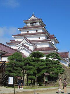 会津① 旅の始まりは青空に映える赤瓦の「会津若松城」から