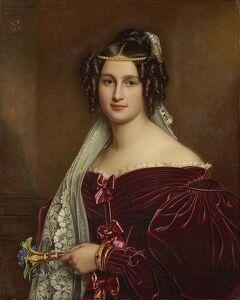 ドイツ2012年・麗しの5月:エッティンゲン・ヴァラーシュタイン侯爵家の二人の美女。