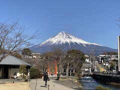 2021年2月 富士宮&富士川で富士山鑑賞