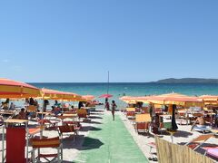 サルデーニャ島でワーケーションー食べ物の話、および最初のビーチのことなど