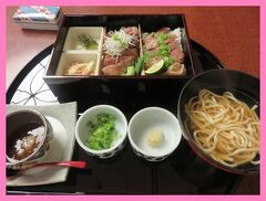 沖縄2014冬(4)石垣牛とあぐー豚のステーキ重御膳