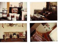 セピア色の思い出:ドイツで家内は古いソファーと椅子の布地を改装した。