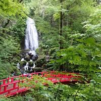 不動の滝と八幡平散策