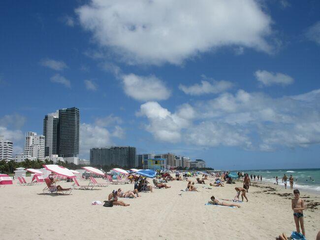トランジットで立ち寄ったマイアミを観光しました。