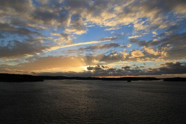 シニア夫婦2回目の北欧、バルト7カ国ゆっくり旅行25日 (11)ストックホルムからヘルシンキへセレナーデ号で移動します(9月29日)