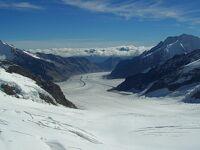 24.スイス鉄道の旅 (記録)15日目 :世界自然遺産アレッチ氷河・ユングフラウ等