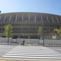 神宮外苑さんぽ オリンピック前に新国立競技場を見に行ってみた