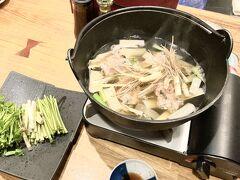 社用出張はこれが最後にしたいです。仙台へ行ったついでに私用をしよう。その①セリ鍋を食べる