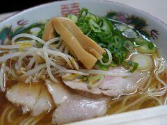 20210225-1 京都 四条烏丸なんて街の中に、老舗の食堂。萬福で中華そばを。