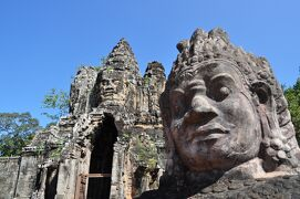 カンボジア トゥクトゥクで巡る遺跡の旅 その1 アンコールトム・タプローム寺院編
