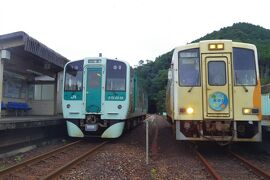 四国鉄道巡り旅part2高知県の東の端