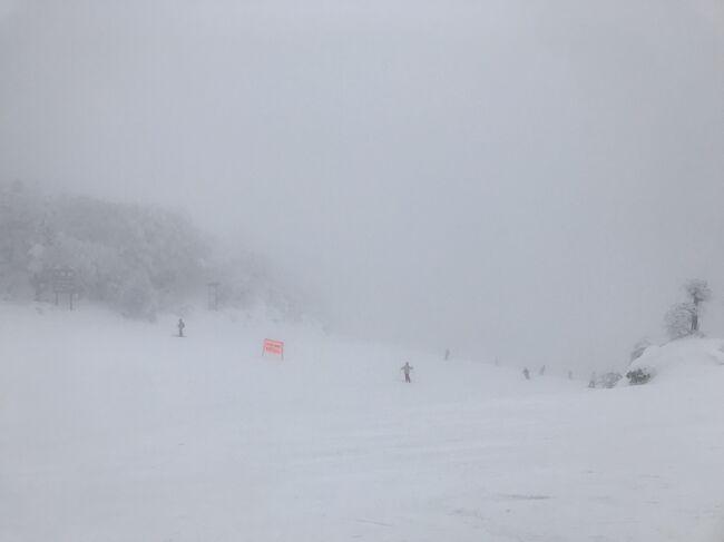 雪質は良いけど吹雪がきつい、でも温泉で癒やされつつの蔵王スキー=2021年1月
