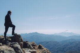 <笠取山>絶景の富士山・美味しい源流水で格別の山コーヒーを堪能