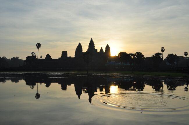 カンボジア トゥクトゥクで巡る遺跡の旅 その2 アンコールワット編